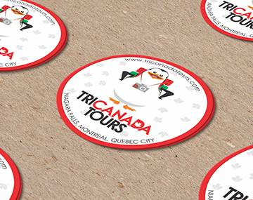 STICKERS TRI CANADA TOURS
